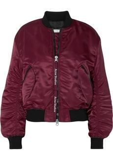 Acne Clea shell bomber jacket