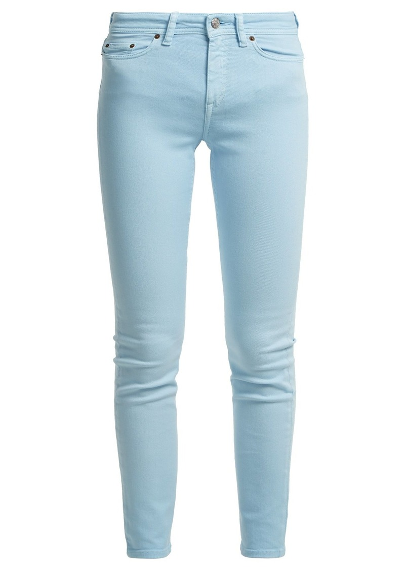 Acne Studios Climb mid-rise skinny-leg jeans