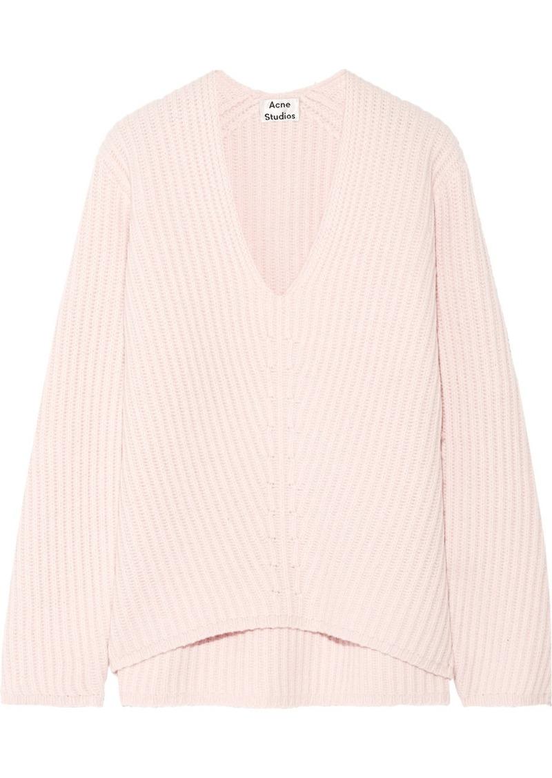 96024edbeffc4 Acne Studios Acne Studios Deborah ribbed wool sweater