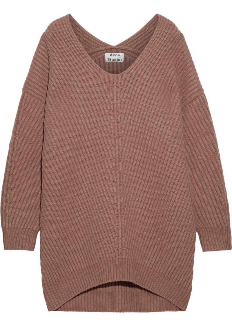Acne Acne Studios Deka oversized ribbed wool sweater | Sweaters ...