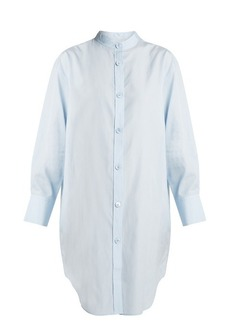 Acne Studios Diede Dry Pop cotton-poplin shirtdress