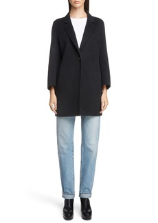 Acne Studios Double Wool & Cashmere Coat