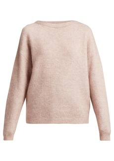 Acne Studios Dramatic mohair-blend sweater