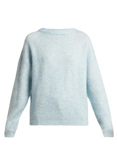 Acne Studios Dramatic mohair-blend sweater