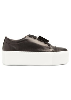 Acne Studios Drihanna leather low-top trainers