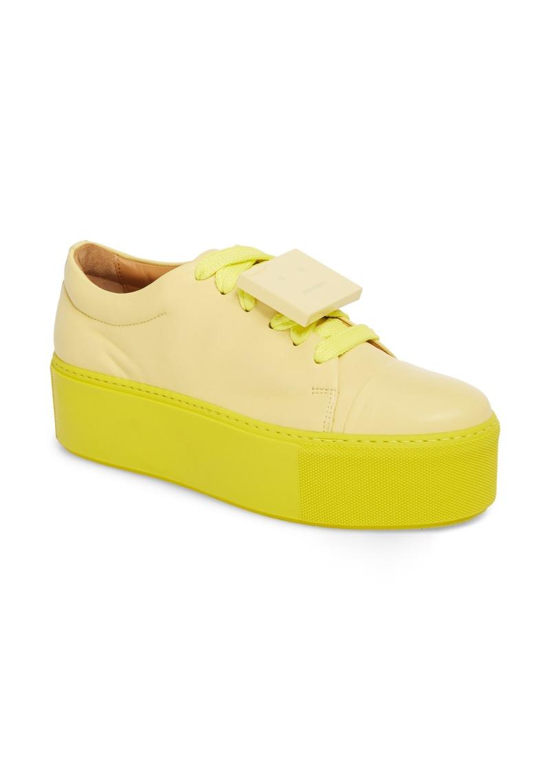 e141e0aa740c Acne Studios Acne Studios Drihanna Nappa Leather Platform Sneaker ...