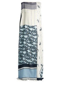Acne Studios Dulcia paisley-print boat-neck dress