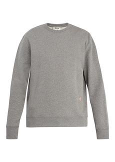 Acne Studios Faise embroidered cotton sweatshirt