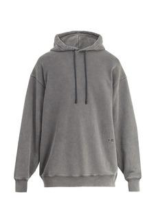 Acne Studios Fala cotton hooded sweatshirt