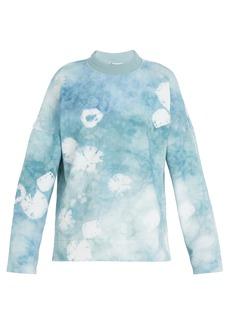 Acne Studios Fellke bleached cotton sweatshirt