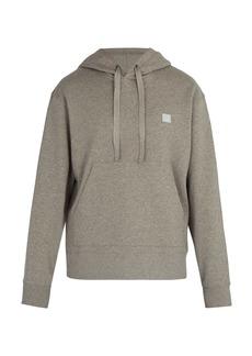 Acne Studios Ferris Face cotton hooded sweatshirt