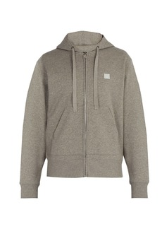 Acne Studios Ferris Face hooded cotton sweatshirt