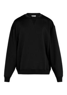 Acne Studios Flogho cotton sweatshirt