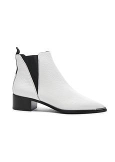 Acne Studios Grained Leather Jensen Booties