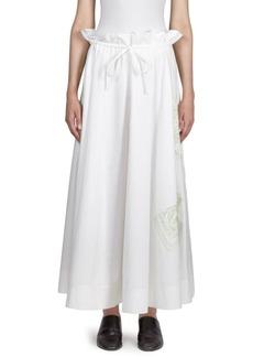 Acne Studios Hella Pop Cotton Skirt