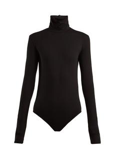 Acne Studios High-neck cotton-blend bodysuit