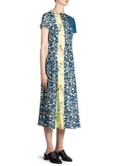 Acne Jovana Floral Midi Dress