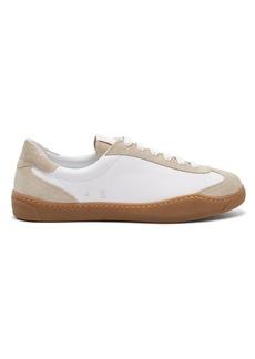 Acne Studios Lars leather and suede trainers