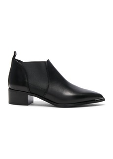Acne Studios Leather Jenny Booties
