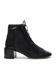 Acne Studios Leather Mable Booties