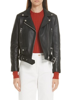 Acne Studios Mock Core Leather Moto Jacket