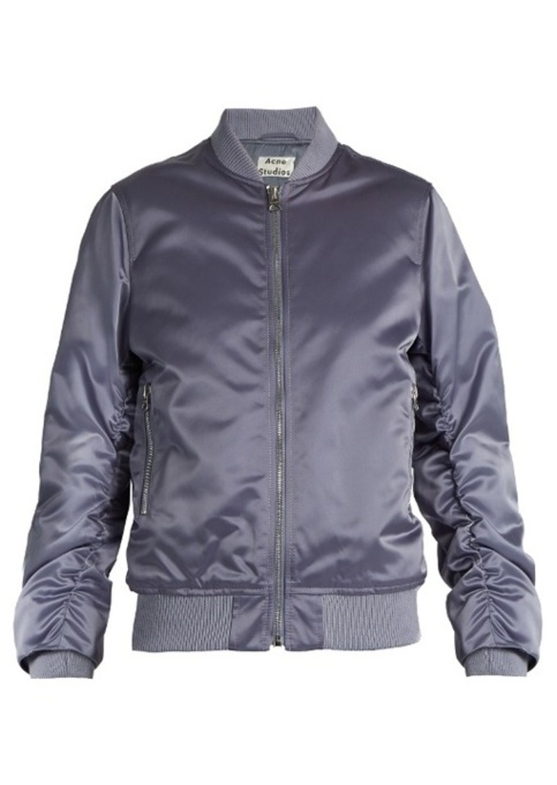 Ruched bomber Jacket Acne Studios Discount Cost For Nice Cheap Price Best Prices Buy Cheap Outlet Store Cheap Online Store FaBit