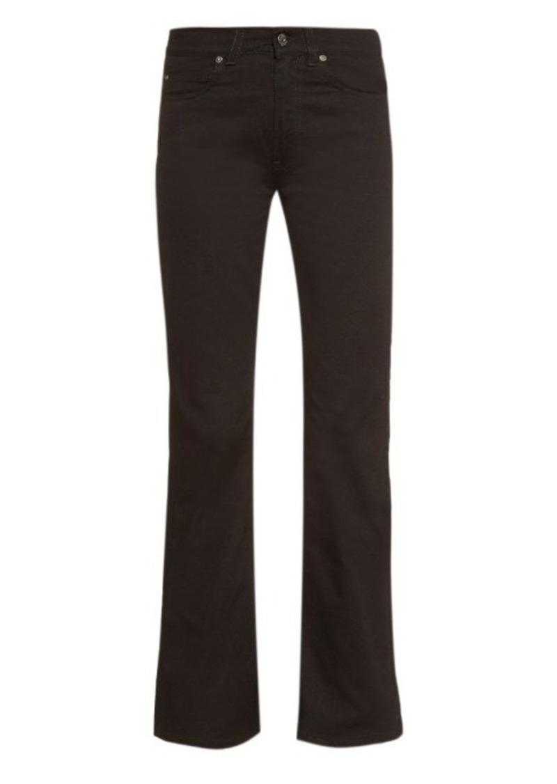 Acne Studios Lita high-waisted flared jeans