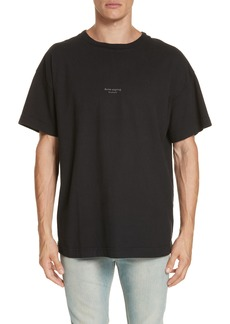 Acne Studios Logo Graphic T-Shirt