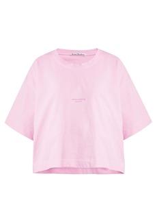 Acne Studios Logo-print cotton-jersey T-shirt
