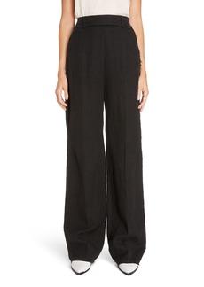 Acne Studios Marcelle Linen & Cotton Pants