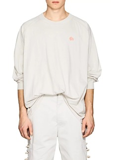 Acne Studios Men's Carp Badge Cotton T-Shirt