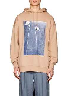 "Acne Studios Men's ""Fala""-Print Cotton French Terry Oversized Hoodie"