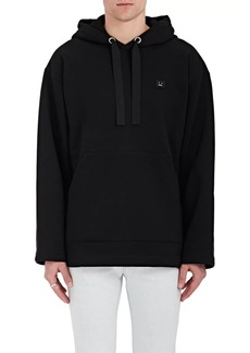 Acne Studios Men's Florida Face Cotton-Blend Fleece Hoodie