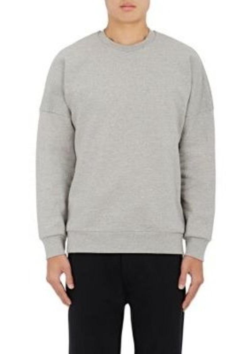 Acne Studios Men's Font Cotton Fleece Sweatshirt