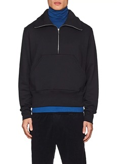 Acne Studios Men's Fuller Cotton Half-Zip Sweatshirt
