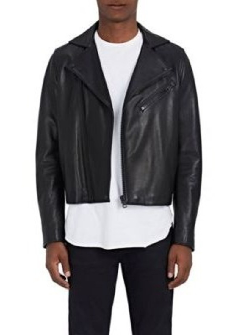 a88448f7179 Acne Studios Acne Studios Men s Gibson Clean Leather Moto Jacket Now ...