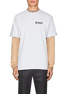 Acne Studios Men's Jaceye Print Cotton T-Shirt