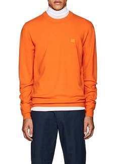 Acne Studios Men's Nalon S Emoji Wool Sweatshirt