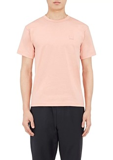 Acne Studios Men's Nash Cotton Emoji Face T-Shirt