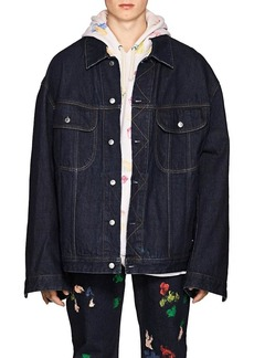 Acne Studios Men's Pepper Denim Oversized Jacket