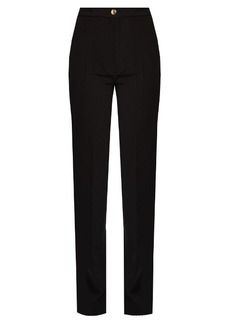 Acne Studios Myla high-waisted cady trousers
