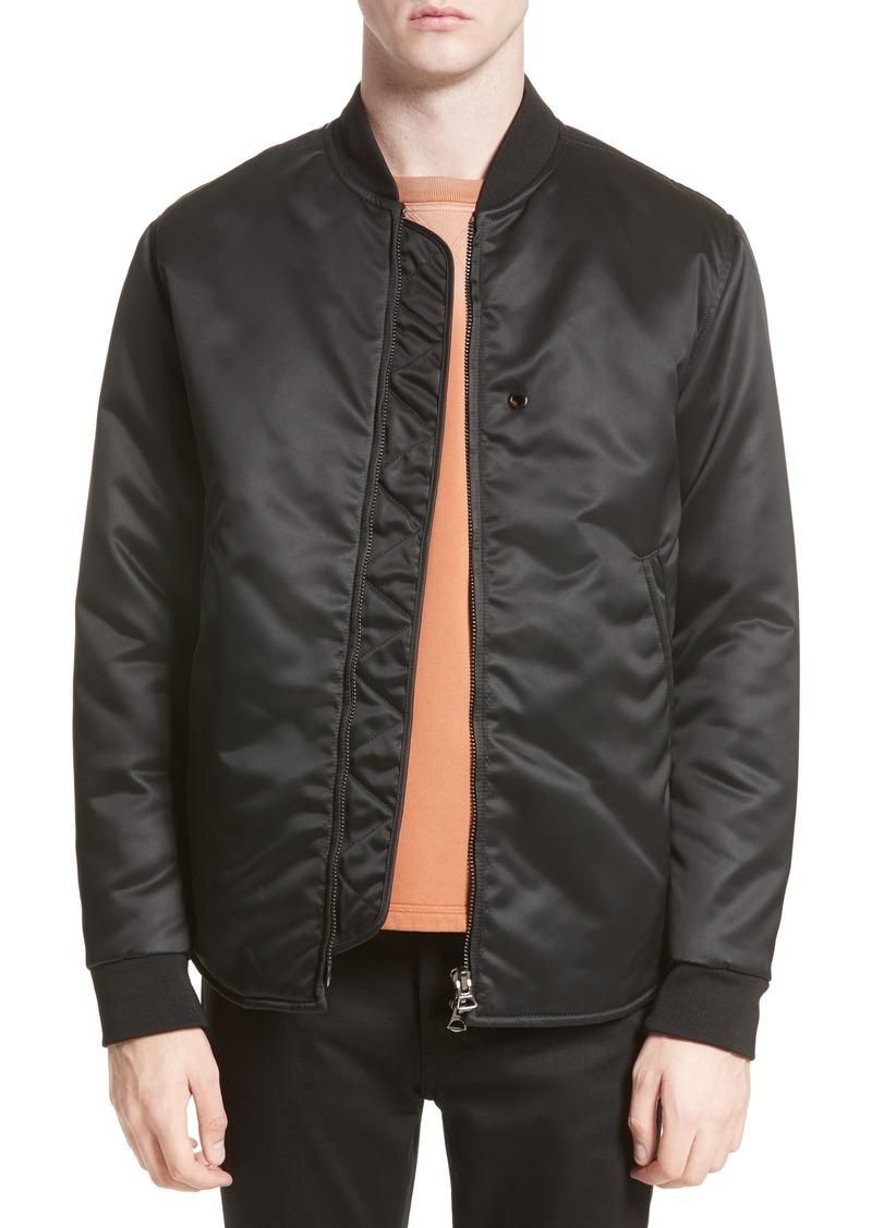 47f3158b1 Mylon Matt Bomber Jacket