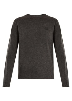 Acne Studios Nalon Face wool sweater
