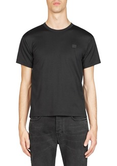 Acne Studios Nash Face Crewneck Cotton Tee