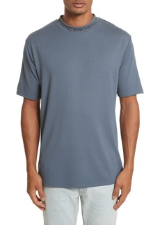 Acne Studios Navid Logo Collar T-Shirt