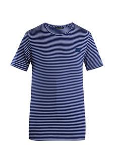 Acne Studios Nele striped cotton T-shirt