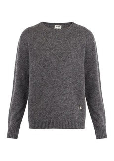 Acne Studios Nicol embroidered wool sweater
