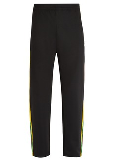 Acne Studios Norwich Face jersey track pants