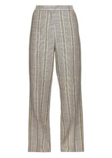 Acne Studios Obel cotton and linen-blend trousers