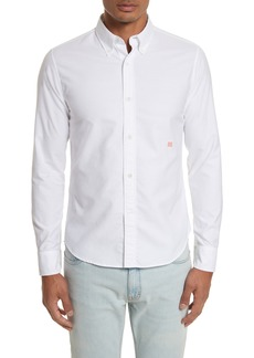 Acne Studios Ohio Face Patch Oxford Shirt
